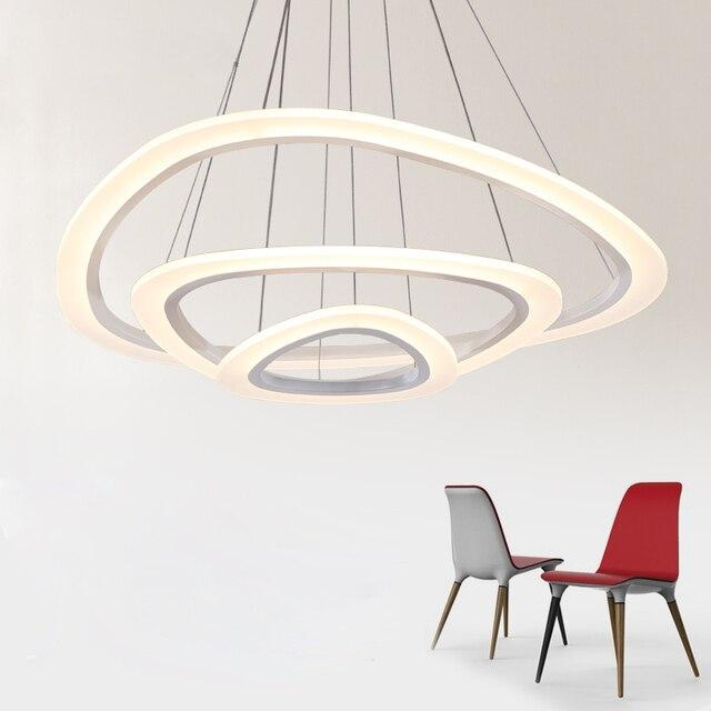 Neue Moderne pendelleuchten für wohnzimmer esszimmer 4/3/2/1 Kreis ...
