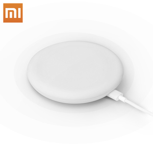 Image 1 - Xiaomi Original Wireless Charger 20W Max Qi Smart Quick Charge Type C Fast Charger for Xiaomi Mi 9 mi9 MIX 3 Smartphone