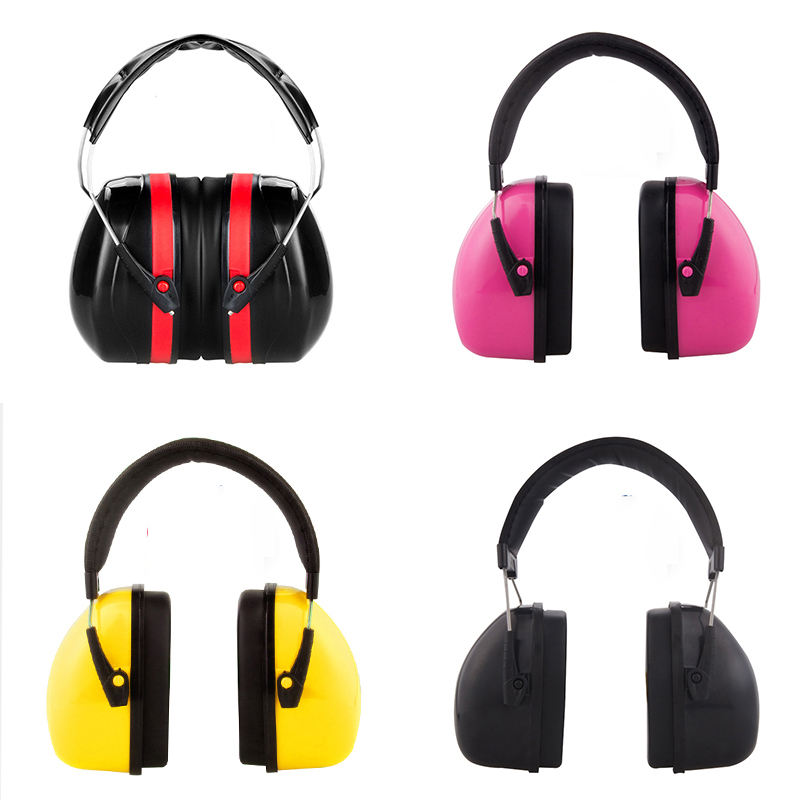 Image 2 - Ear protection anti noise hearing earmuffs protector noise cancelling reduction muffs earplugs tactical defender headphones-in Ear Protector from Security & Protection
