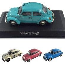 Voiture coccinelle rétro haute simulation, modèles de voiture en alliage 1:43, moulages en métal, véhicules de jouets de collection, livraison gratuite