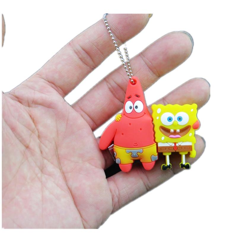 Creative Cartoon Usb Flash Drive 2.0 Pendrive Spongebob Patrick Together Usb Stick 4G 8G 16G Pen Drive 32GB 64G 128G Memoria Usb
