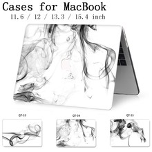 2019 nouveau pour ordinateur portable MacBook Case housse housse tablette sacs pour MacBook Air Pro Retina 11 12 13 15 13.3 15.4 pouces Torba
