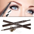 New Triangle Eye Brow Pencil Makeup Automatic Rotating eyebrow shaping pencil 5 colors waterproof long lasting smooth easy use