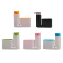 Newestest Portable Home Bathroom Plastic Shampoo Soap Dispenser Practical Liquid Shower Gel Container Holder