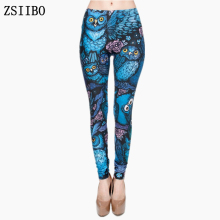 ZSIIBO Autumn Winter Leggings Printed Women Legging Triangles Rainbow Legins High Waist Elastic Leggins Silm Women Pants