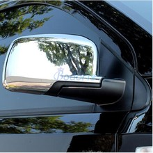 For Dodge Journey JUCV Fiat Freemont 2011 2012 2013 2014 2015 2016 2017 2018 Door Mirror Overlay Rear View Cover Car Accessories