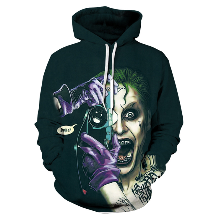 Demon Take Camera 3d Hoodies
