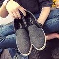 Nueva llegada del invierno y primavera solid mujeres de los holgazanes de deslizamiento de la moda en punta redonda plana zapatos de plataforma zapatos creepers mujer aumento de la altura