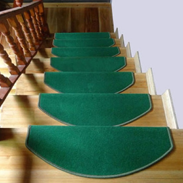 1pc Doormat Stair Treads Floor Mats Non Slip Staircase Pads Carpets Thickening Mat Rugs For
