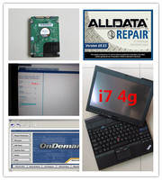 auto repair laptop x201t i7 4g alldata v10.53 mitchell on demand 2in1 with 1000gb hard disk installed version ready to use