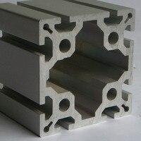 Ev Dekorasyonu'ten Somun ve Cıvata Setleri'de Led alüminyum profil CJ 8 100100 yüksek kalite 100100 alluminio profil ekstrüzyon çerçeve CNC