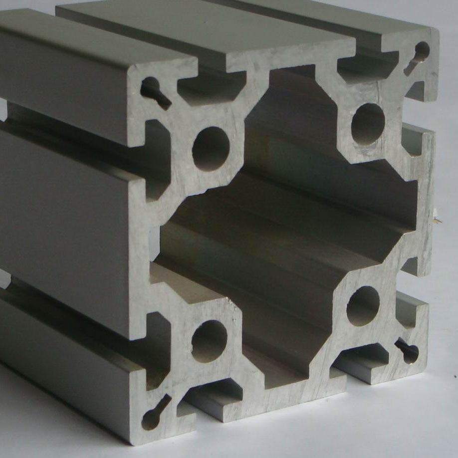 Profilé d'aluminium LED CJ-8-100100 cadre d'extrusion de profil alluminio 100100 de haute qualité pour CNC