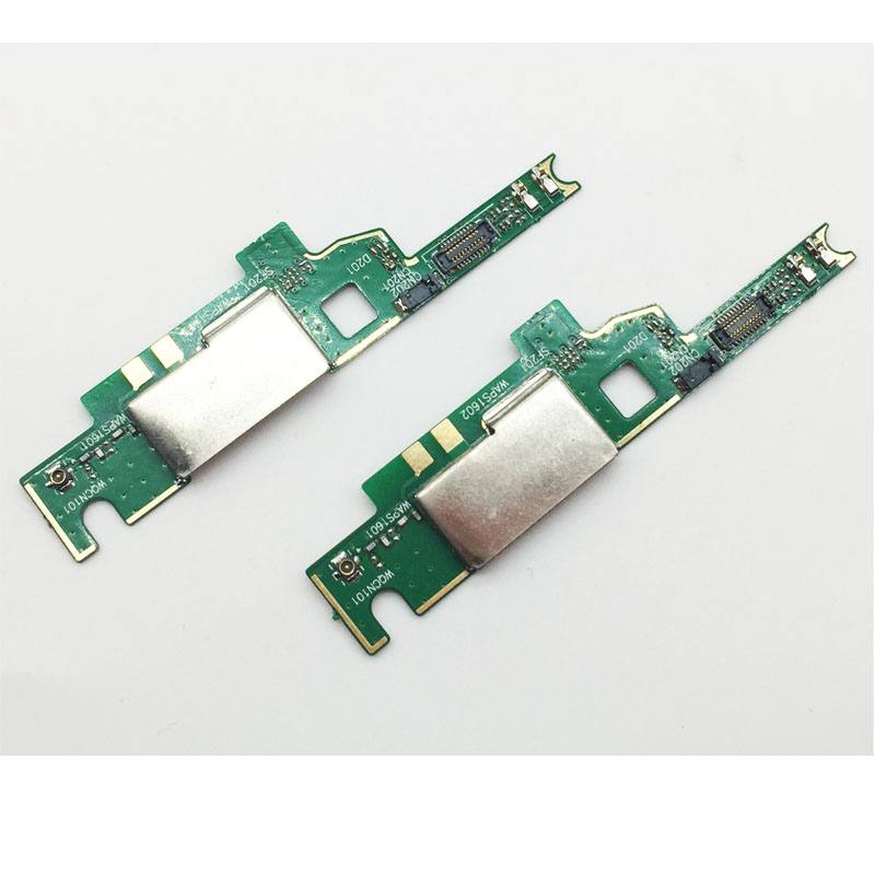 imágenes para 10 unids/lote, original para sony xperia m4 aqua fc_sony_m4_micpcb antena placa pcb junta flex cable micrófono mic