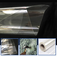KOREAN quality 8mil 1.52m x 5m Safety Film/Glass Protection Film/security film/Transparency Glass Protector, house/car HOHOFILM