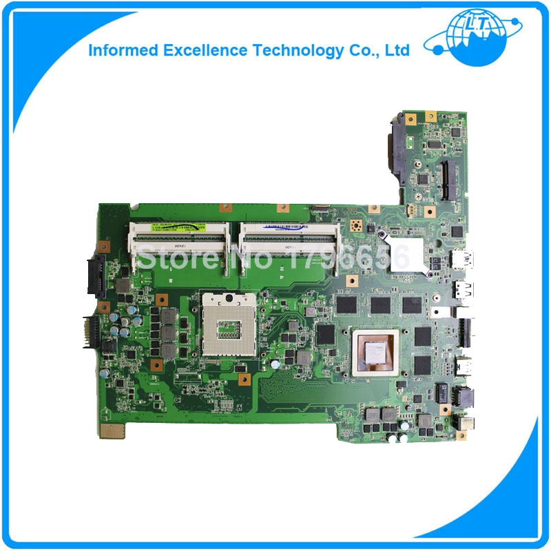 Original laptop motherboard for asus G74SX motherboard  with 2D connector 12 Memory GTX560M 3GB 60-N56MB2800 DDR3 4 Ram Slot 8cells new battery for asus a42 g74 lc42sd128 g74 g74j g74s g74sx g74sw g74jh g74sx xr1 g74sx xc1 g74sx fhd tz048v g74sx xa1