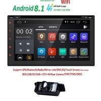Hizpo Universal Autoradio Bluetooth GPS Car Multimedia Player Car Radio 2 din 7 HD Touch Screen AUX IN MP3/FM/USB Backup Camera