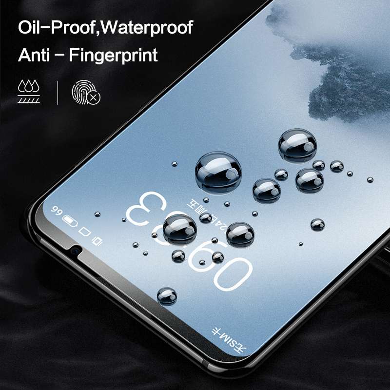 Image 2 - SmartDevil screen protector For Meizu 16th tempered glass protector film 2 pieces mobile phone toughened film anti fingerprint-in Phone Screen Protectors from Cellphones & Telecommunications