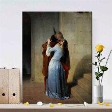 Постеры и принты итальянского художника Франческо hayez kiss