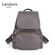 Твердые PU рюкзак девушки случайные softback мешок с крышкой двойной ремень сумка старинные цвет модный рюкзак женщины