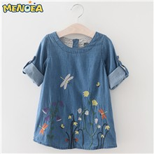 Menoea-2017-Girls-Denim-Dress-Children-Clothing-Autumn-Fashion-Style-Girls-Clothes-Butterfly-Embroidery-Dress-Kids