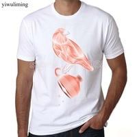 Bird Tshirt Summer O Neck 3d Print Bird Shirt Men Brand Clothing Mens T Shirts Brand