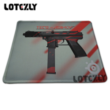 Drop Shipping Rubber Mouse Pad Overlock PC Computer Laptop Gaming Mice Play Mat Mousepad Steelseries Desk Mousemat