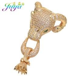 مايكرو تمهيد الزركون الحيوان الأغنام رئيس موصل المشبك اكسسوارات للنساء اليدوية زخرفة خرزية الطبيعي الحجارة اللؤلؤ صنع المجوهرات