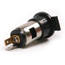 Enchufe para encendedor de cigarrillos de coche, 12V, cargador, fuente de alimentación, resistente al agua