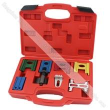 8pcs Timing Locking Kit Engine Timing Lock Pin Kit Crankshaft Flywheel Locking Kit automotive engine timing belt crankshaft locking setting tool kit for fiat 1 2 8v