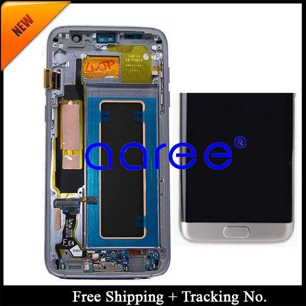 100 Super AMOLED For Samsung S7 Edge G935F LCD For Samsung S7 Edge G935F Display LCD