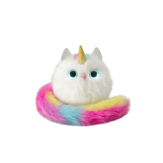 Pink Electric Unicorn Cat Doll