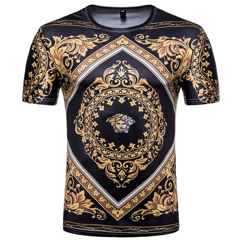 Sommer 3D drucken charakter design kurzarm lustige Mode casual t-shirt hip hop t-shirt männer hipster homme tops Harajuku