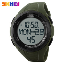 SKMEI 1122 Men Digital Sport Watch Military Outdoor Watches Pedometer Calories Alarm Clock Chronograph Waterproof Wristwatches gimto luxury steel smart watch digital men clock shock female male military watches waterproof pedometer calories smartwatch