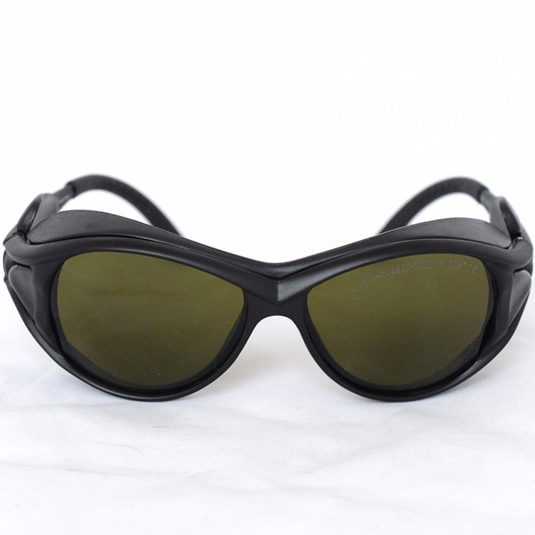 Laser Safety Glasses For 190-450nm And 800-2000nm Optical Density >4 266 355nm 405 445 450 808 810 980 1064nm  With Style 2
