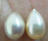 FREE SHIPPING>>>@@ N686 NATURAL SOUTH SEA GENUINE LAVENDER GOLD LOOSE PEARL