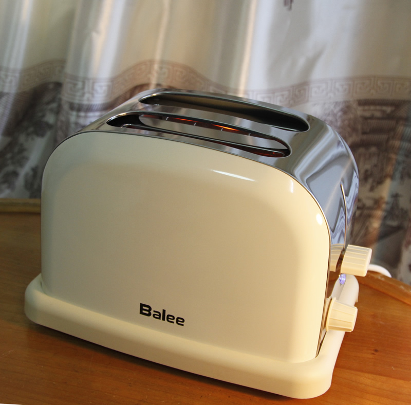 Retro Home Stainless Steel Automatic Toaster Tumbler Toaster 2 10