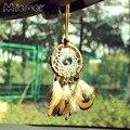Mi amor pequeñas campanas de bronce Dreamcatcher y campanas de viento coche colgante y decoración para el hogar, Accesorios, colgante de pared de colgante de regalo Amor104
