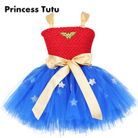 Retail New Party Batman Superman Cosplay Tutu Dress Halloween Costume Girl Dress And Some Patterns To