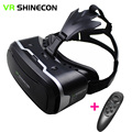 "3D VR Shinecon 2.0 Virtual Reality Glasses helmet Box Glasses Case Google Cardboard For 4.7-6.0"" iOS Android Phone+Game Gamepad"