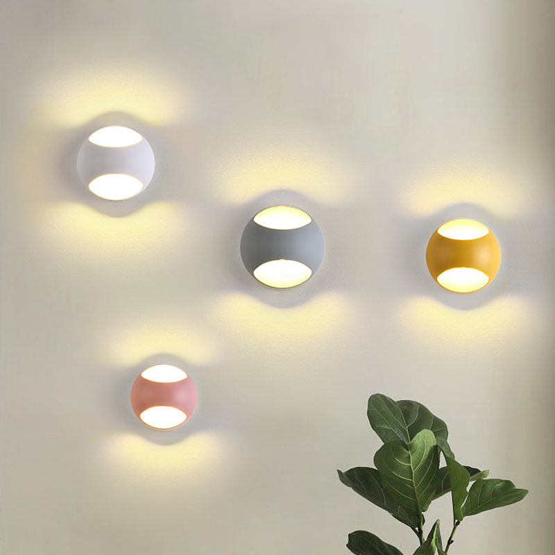 lights led wall living background indoor fixtures lamps lamp kid lighting 100v 220v 5w chromatic bounce zoom stair mirror nordic