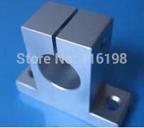 SK16 SH16A SH16 16mm linear bearing rail shaft support XYZ Table CNC Router 1x shf20 20mm linear rail shaft support table cnc router 60x37x20mm linear bearing rod rail horizontal shaft support steel