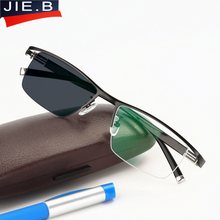 New Transition Sunglasses Photochromic Reading Glasses for Men Titanium alloy Frame Men Presbyopia Eyewear with diopters glasses