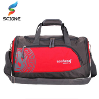 2017 Hot Nylon Outdoor Male Sport Bag Professional Men And Women Fitness Shoulder Gym Bag Hot
