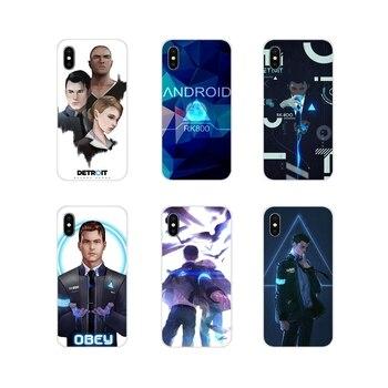 Para Huawei P8 9 Lite Nova 2i 3i GR3 Y6 Pro Y7 Y8 Y9 primer 2017 de 2018 2019 cubiertas de los casos del teléfono de Detroit en humanos