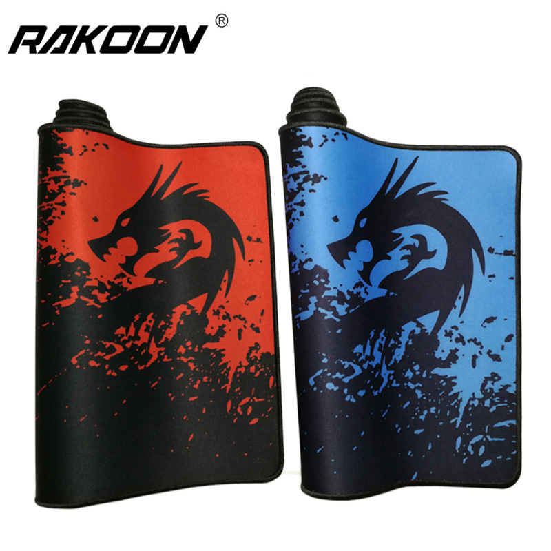 Professional Gaming Mouse Pad Gamer Red/Blue Dragon 30x80cm Large Mousepad Notbook Keyboard Computer Mouse Mat Rug for CSGO DOTA