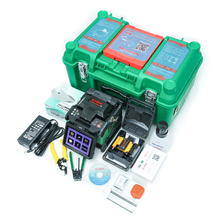 Free Shipping ORIENTEK T37 Fiber Optic Splicing Machine Fusion Splicer Fusionadora de Fibra Optica Welding Machine imlight t37 40