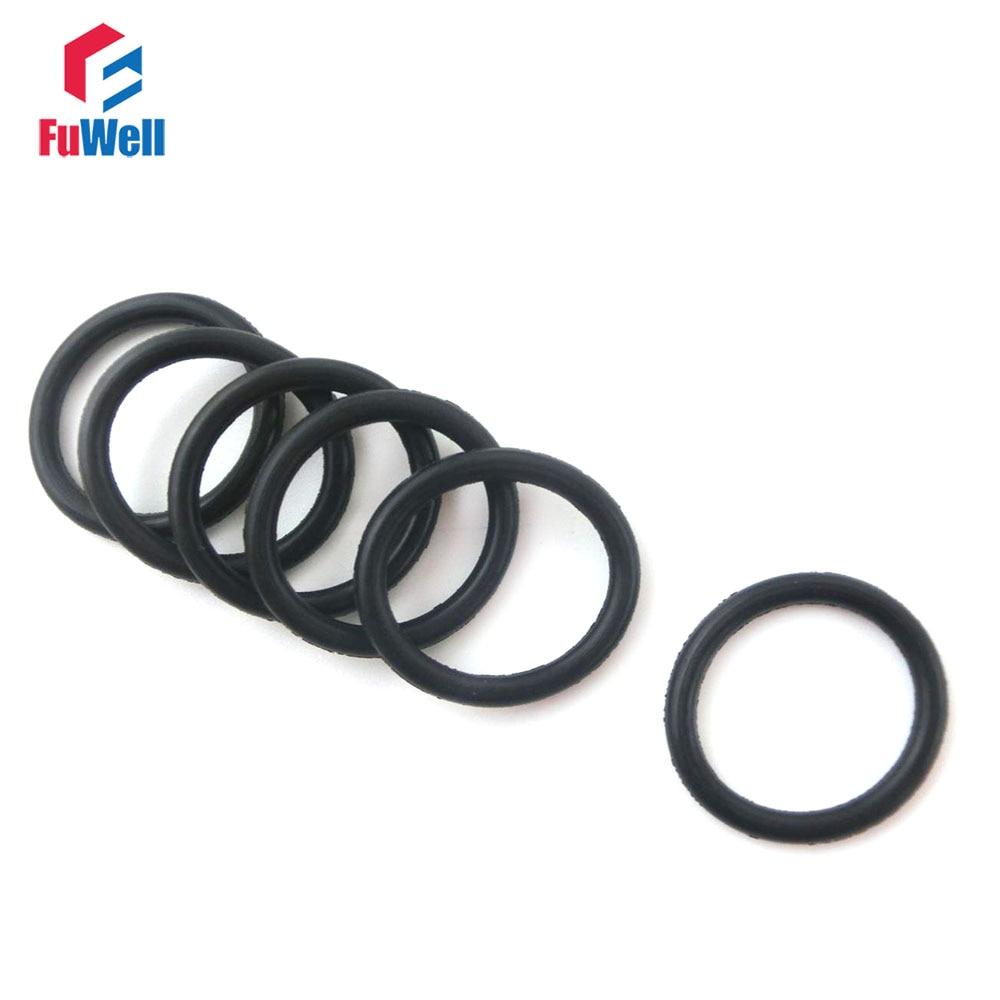 ᗗ50pcs 4mm Thickness NBR O-ring Seals 47/48/49/50/51/52/55/56/57 ...