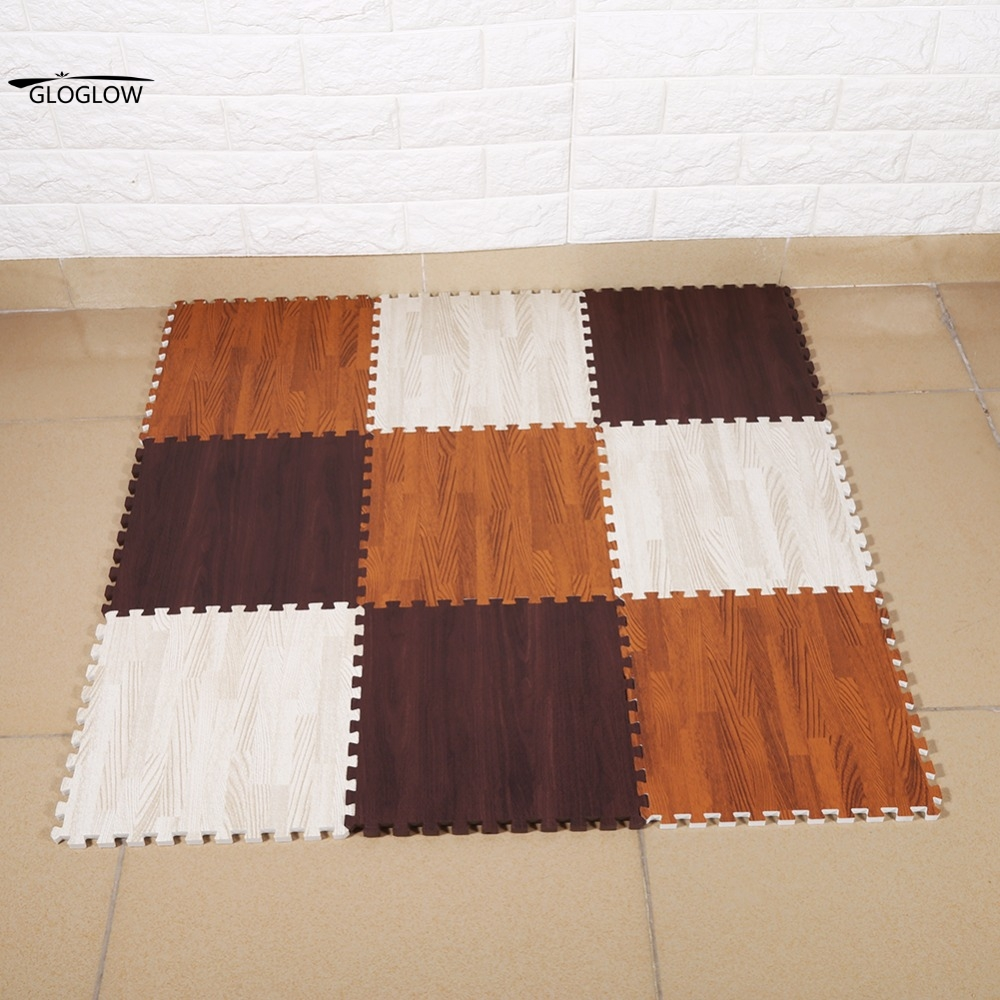 Floor mats gym - 30 30 1cm 1cmthick 9 Pcs Foam Exercise Floor Mats Gym Garage Home Kids Play Mats Pad