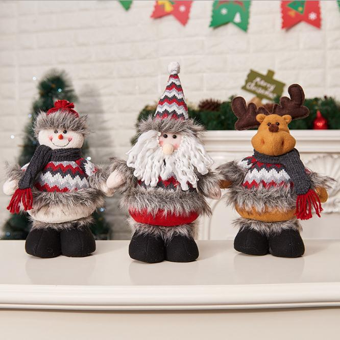 Old Man Christmas Gifts: Christmas Decorations Christmas Party Arrangement Old Man