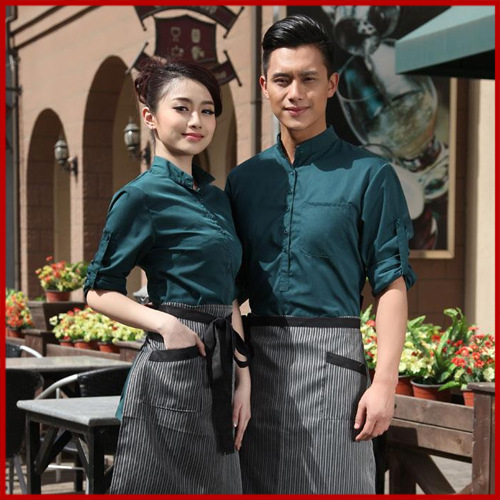 9429a0961f New Summer Restaurant Waiter Work Shirt Uniform Clothing For Men Women  Japanese Restaurant Uniforms Kitchen Clothes CHEF V087